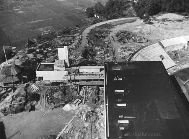 Sports Museum under construction in 1934–1937.