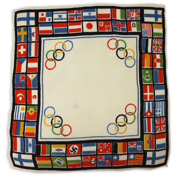 Helsinki Olympic Games 1940 Cloth The Sports Museum of Finland