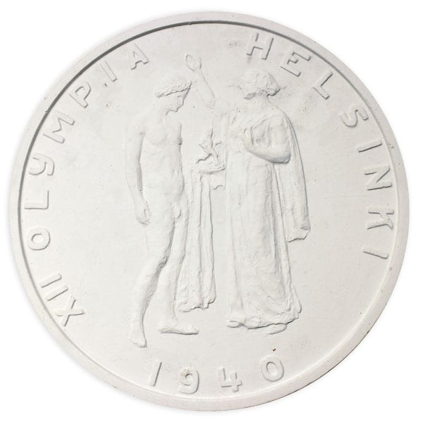 Helsinki Olympic Games 1940 Medal sketch The Sports Museum of Finland