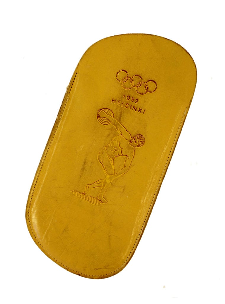 Helsinki Olympic Games 1952 Eyeglass case The Sports Museum of Finland