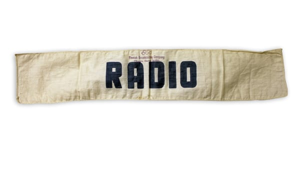 Helsinki Olympic Games 1952  Armband The Sports Museum of Finland