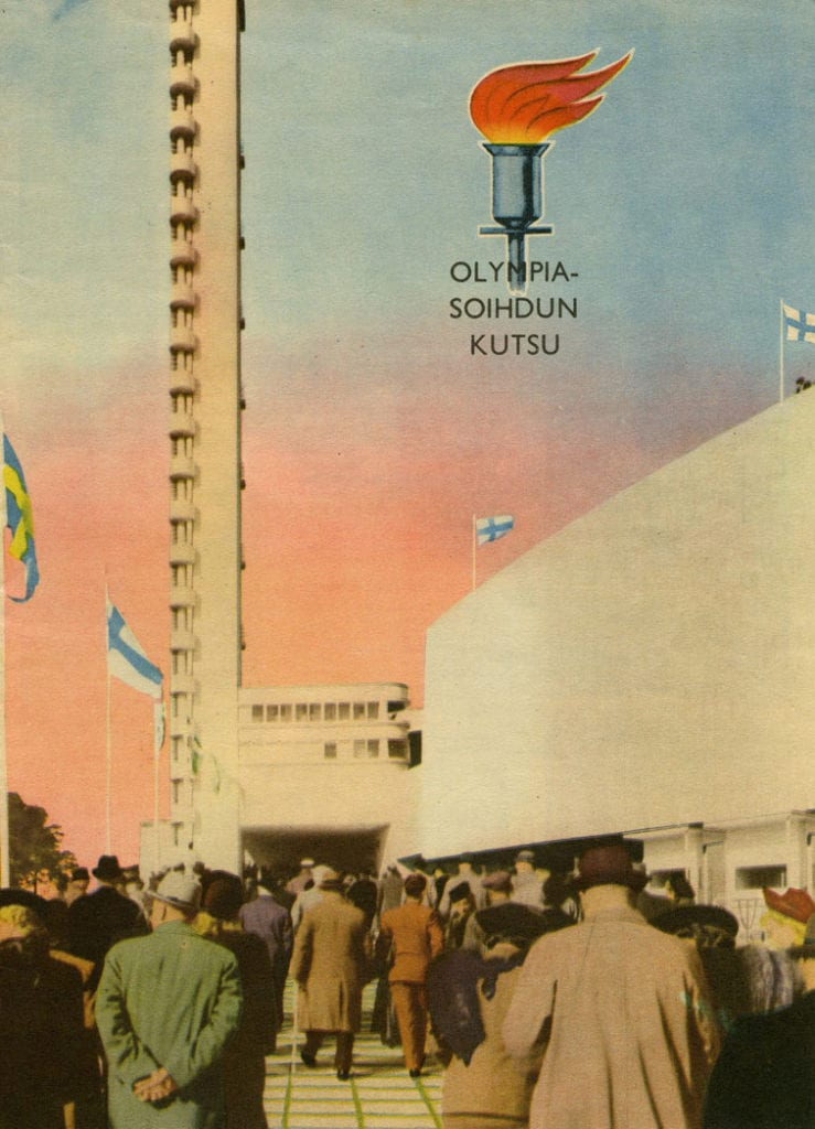 Helsinki Olympic Games 1952  Brochure The Sports Museum of Finland