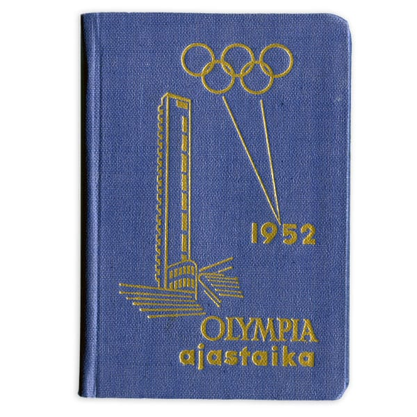 Helsinki Olympic Games 1952  Olympic almanac The Sports Museum of Finland