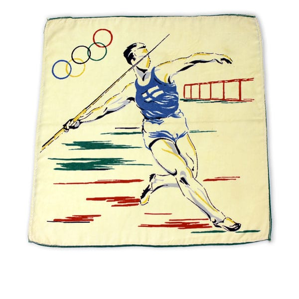 Helsinki Olympic Games 1952  Olympic cloth The Sports Museum of Finland