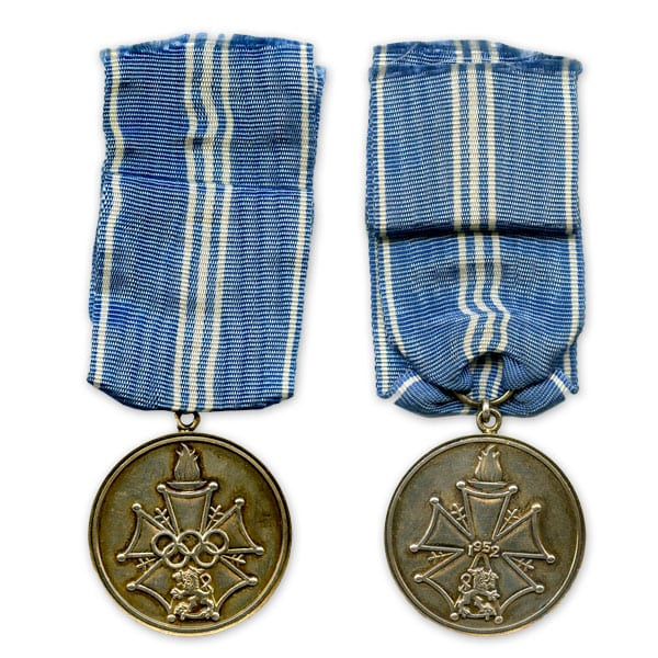 Helsinki Olympic Games 1952 The Finnish Olympic Medal of Merit The Sports Museum of Finland