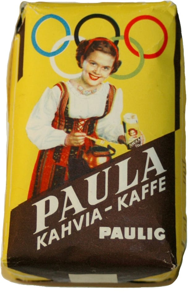 Helsinki Olympic Games 1952 Coffee bag The Sports Museum of Finland