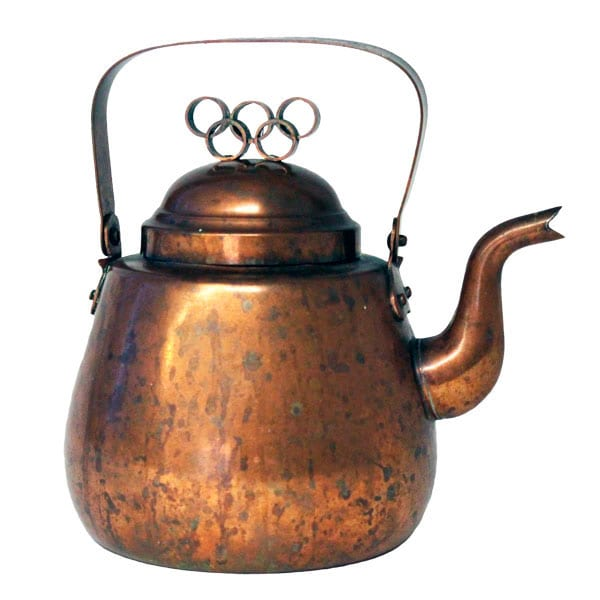 Helsinki Olympic Games 1952 Coffee pot The Sports Museum of Finland