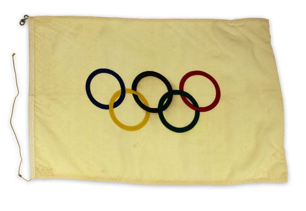 Helsinki Olympic Games 1952 Flag The Sports Museum of Finland
