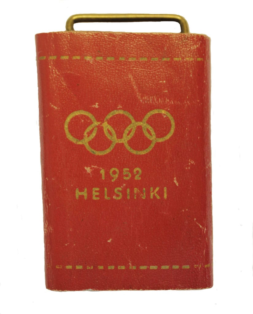 Helsinki Olympic Games 1952 Key holder The Sports Museum of Finland