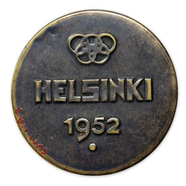 Helsinki Olympic Games 1952 Mirror The Sports Museum of Finland