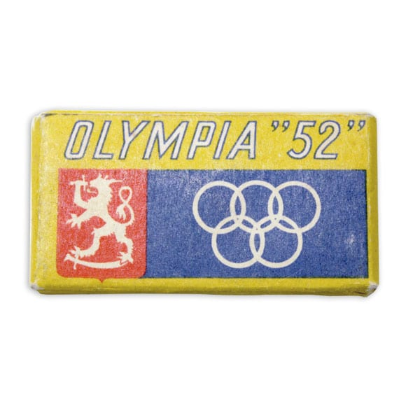 Helsinki Olympic Games 1952 Razor blade pack The Sports Museum of Finland