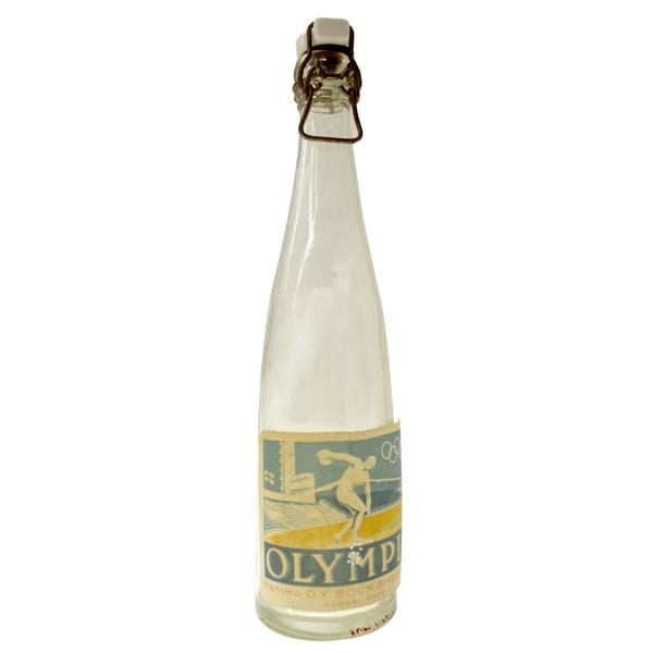 Helsinki Olympic Games 1952 Soft drink bottle The Sports Museum of Finland