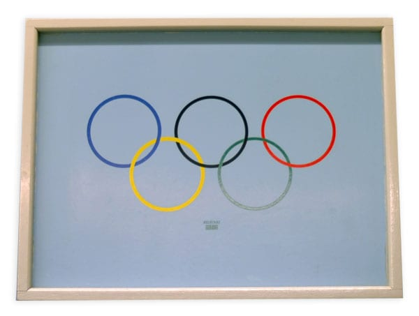 Helsinki Olympic Games 1952 Tray The Sports Museum of Finland